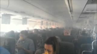 panne au moteur d'un avion - atterrissage urgent