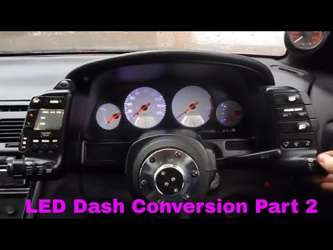 300zx Dash LED Conversion Part 2