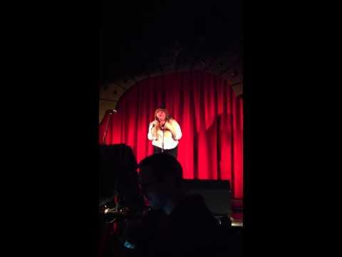 Jessica Grace Zorn singing Alone by Heart