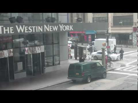 TIMES SQUARE BOMB THREAT-ABANDONED VAN-SEE NYPD'S TACTICS IN ACTION