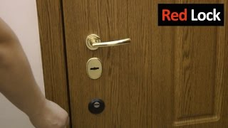 RED LOCK LMI. Примеры установки(Примеры установки скрытого замка Red Lock LMI., 2016-03-12T16:20:12.000Z)