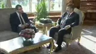 لقاء السيد الرئيس بالسيد رئيس الوزراء والفريق السيسي