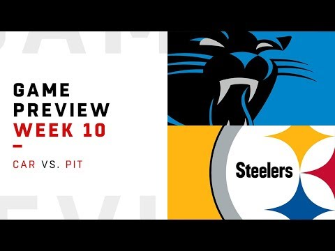 Carolina Panthers vs. Pittsburgh Steelers | Week 10 Game Preview | NFL Playbook