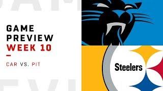 Carolina Panthers vs. Pittsburgh Steelers | Week 10 Game Preview | NFL Playbook