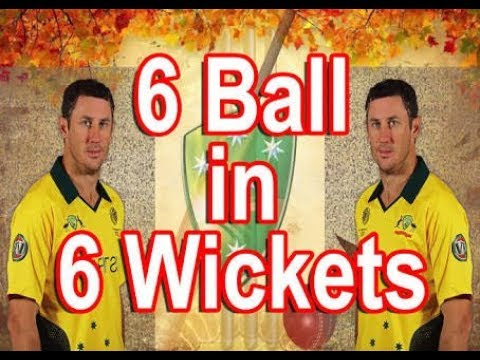 2017 6 balls 6 wickets outstanding moments in the cricket history against pakisthan yo hoooo
