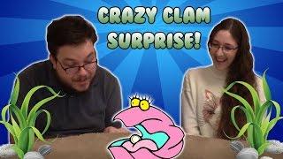 crazy clam surprise!