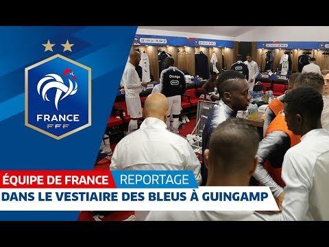 Dans le vestiaire des Bleus pour France-Islande, Equipe de France I FFF 2018