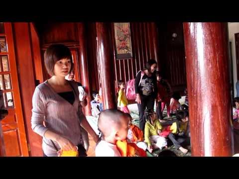 Các cháu Mẫu giáo Việt Triều lên đến Ba Vì