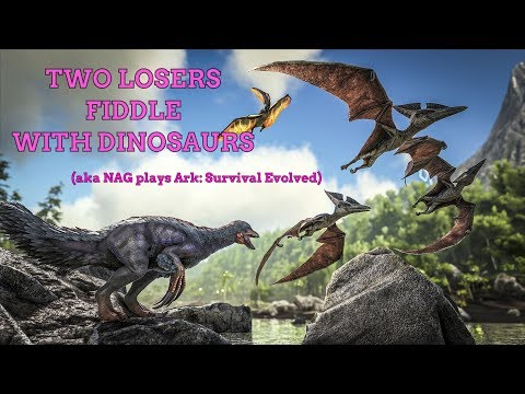 NAG's first Ark: Survival Evolved stream part 1: The Great Power Cut