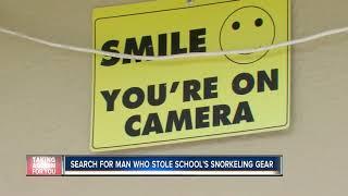 Snorkeling Equipment stolen from school