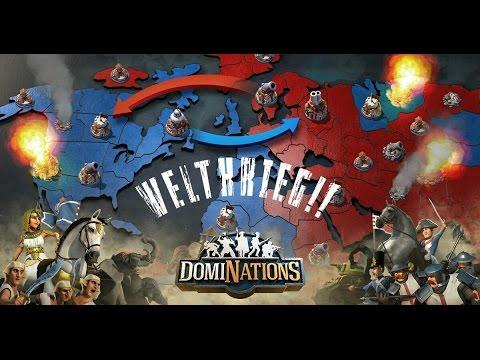 #61. DomiNations - Aufgenommene Weltkriegs Angriffe von verbündeten Allianz Mitgliedern