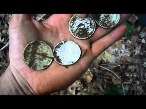 Silver Dollar Coin Spill September 6, 2014