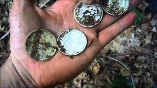 Silver Dollar Coin Spill September 6, 2014