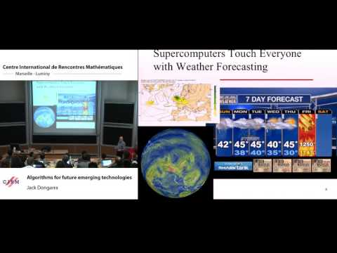 Jack Dongarra: Algorithms for future emerging technologies