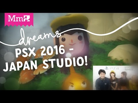 Dreams PS4 - Creating New Hot Shots Golf with Japan Studio  | PSX Live Stream