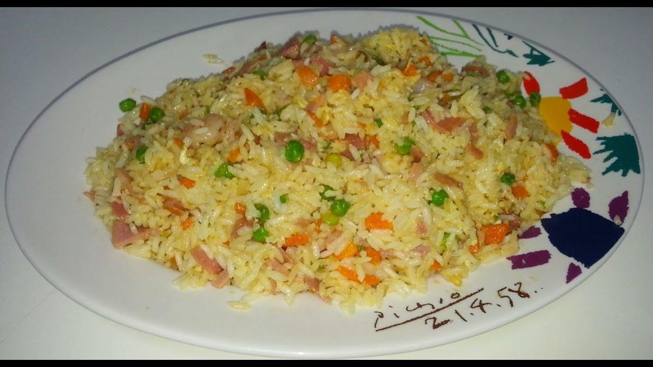 Arroz frito 3 delicias youtube for Cocinar arroz 3 delicias