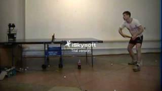 VTS_3. Тренировка с Donic Robo-Pong 1040