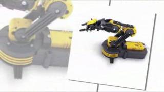Build Your Own - Robot Arm Self Assemble Kit - 5 Motors