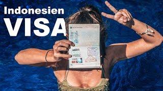 Indonesien Visum beantragen & verlängern l Die ultimative Anleitung