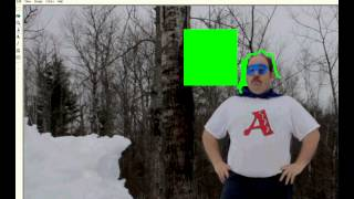 Cut & Zoom technique - tutorial for `The Vagabond