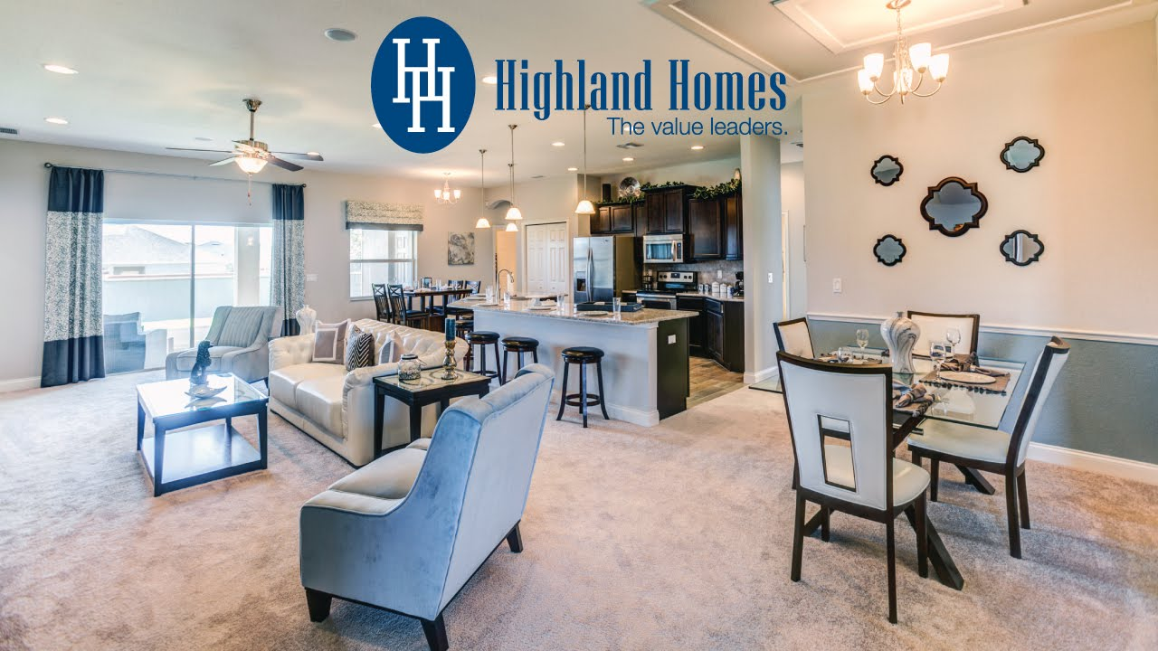 Willow II with Loft home plan by Highland Homes Florida New Homes – Highland Homes Floor Plans Texas
