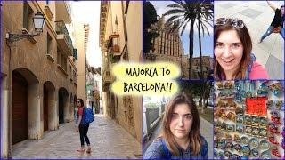 TRAVEL VLOG - Majorca to Barcelona. day 1 - we get tattoos