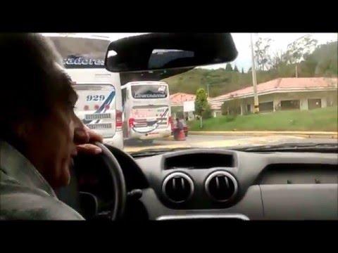 Buses De Libertadores 914  929 Y 975 En La Carretera  Bogota Sogamoso