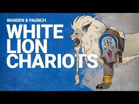 Total War: WARHAMMER 2 - Introducing... White Lion Chariots of Chrace