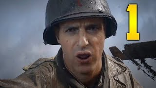 "Call of Duty WW2 PC Gameplay Walkthrough - Mission 1 ""D-DAY"" (Let"