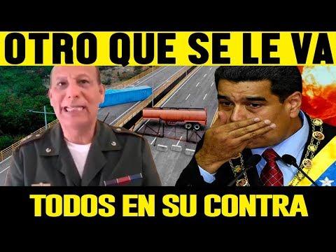 Ultima hora 10  DE FEBRERO 2019, CORONEL DESCONOCE A NICOLAS MADURO