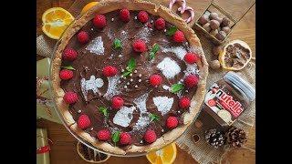 Świąteczny sernik z kremem Nutella