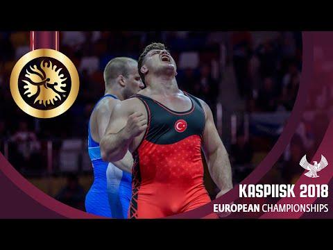 GOLD GR - 130 kg: R. KAYAALP (TUR) v. V. SHCHUR (RUS)