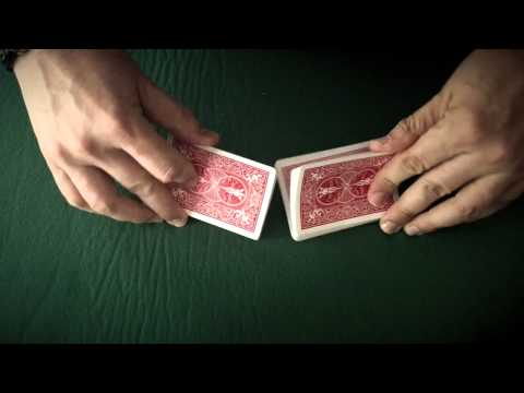 An Incredible Card Trick Choreographed to Music