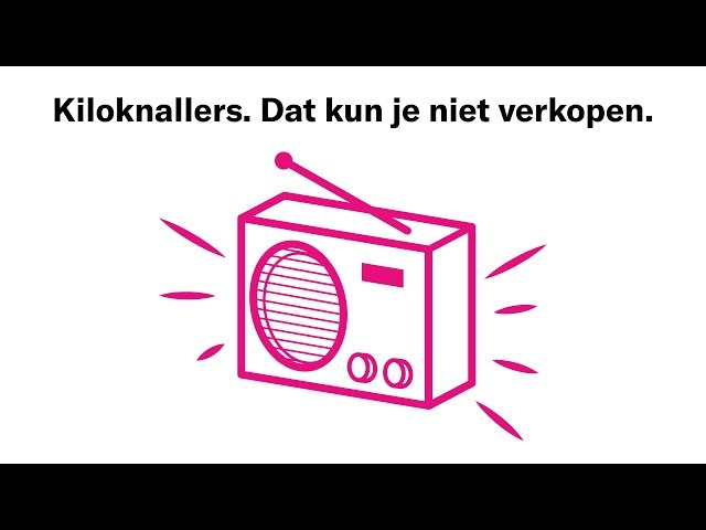 Radiospot tegen kiloknallers van supermarkt DEEN