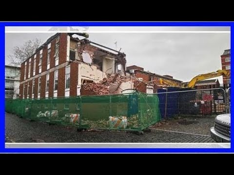 Breaking News | Demolition of liverpool's hardman residence underway