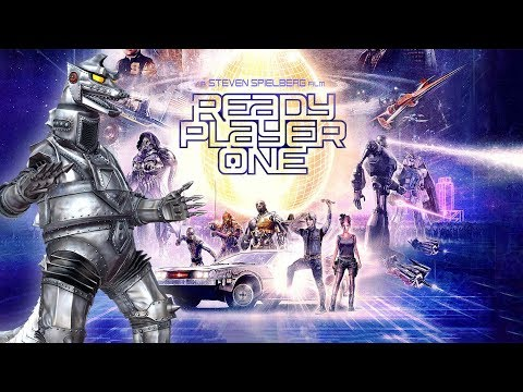 MECHAGODZILLA (Kiryu) in READY PLAYER ONE ??!!