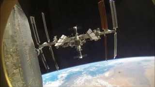 Přeparkování Sojuzu u ISS