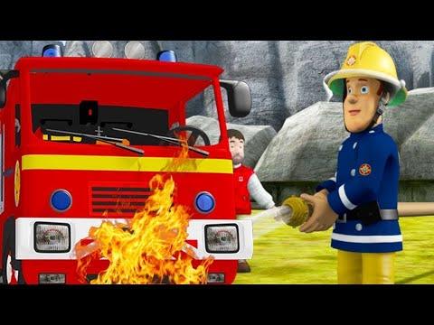 Пожарный Сэм ⭐️ Пожарная машина горит!  | мультфильм для детей