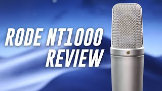 Rode NT1000 Studio Condenser Mic Review / Test