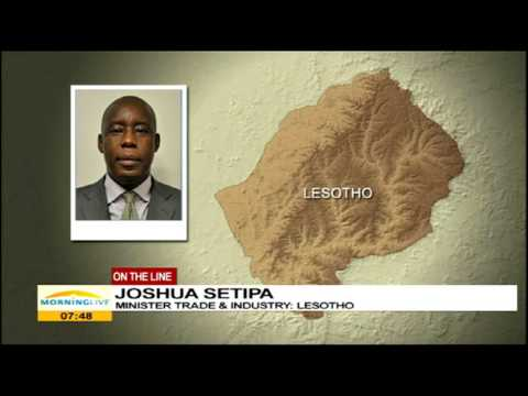 Come to Lesotho and help build the economy: Joshua Setipa