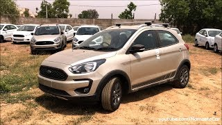 Ford Freestyle Titanium Plus/Ka+ Active 2018 | Real-life review