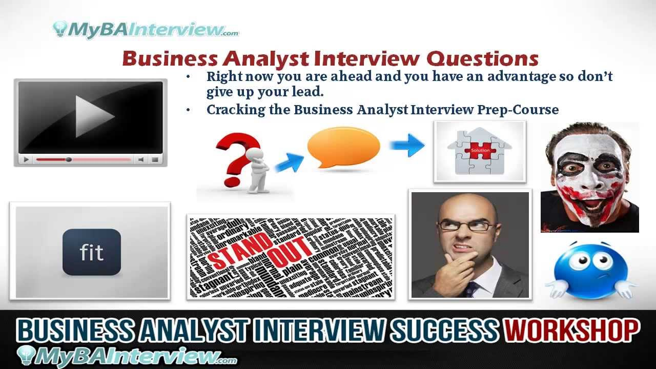 BA Interview Workshop   Business Analyst Interview Questions (Video 5 Of 6)    YouTube  Interview Workshop