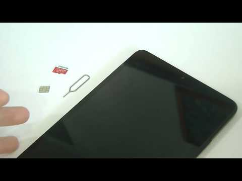 How To Insert SIM, Micro SD Card On Xiaomi Mi Pad 4?