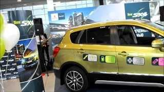 презентация Suzuki New SX4 (S-cross) SX-4 2 поколения 2013-2014