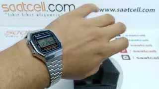 Casio Klasik Retro A168WA-1 kol saati ayarlaması ve incelemesi