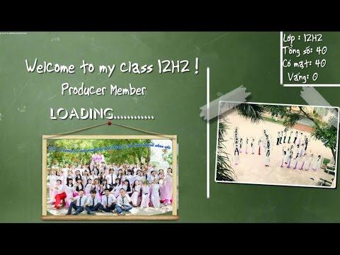 [H2 TS3] Ý Tưởng Tạo Video Kỉ Niệm Lớp   Kỉ Niệm Tuổi Học Trò 12H2 Triệu Sơn 3