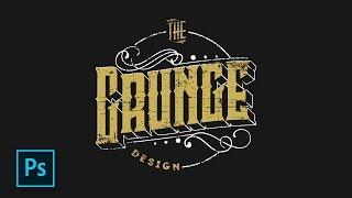 Cara Membuat Desain logo Retro - Hipster Photoshop - Photoshop Tutorial Indonesia