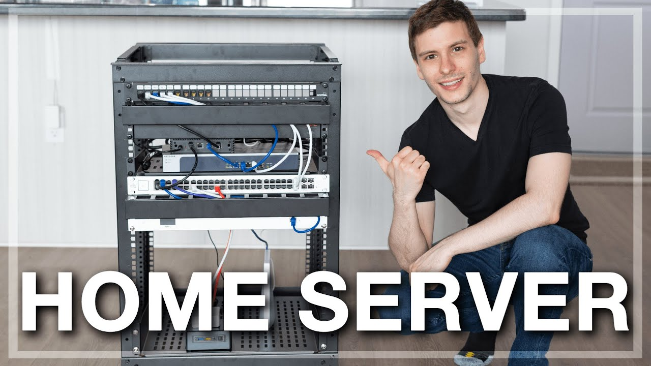 I Built A Home Server Rack And How You Can Too Youtube