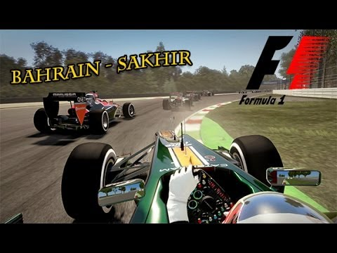 Gameplay F1 2013 Grand Prix de Bahrain : Sakhir | FR - HD - PC