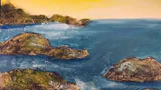 Blick Painting Party - Seascape